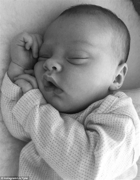 Liv Tyler shares sweet snap of smiling baby girl Lula to