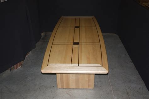 Maple Conference Table Maple Conference Table With A Black Walnut Border Inlay Specialty Woods