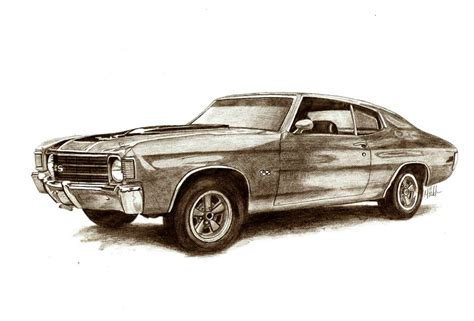 old cars drawings muscle car drawings muscle car sketches auto art