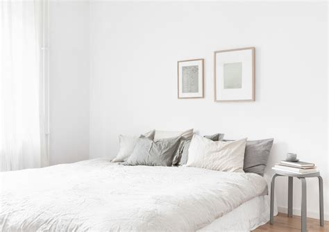 bedroom with white walls decordots calm and simple bedroom in soft neutral hues