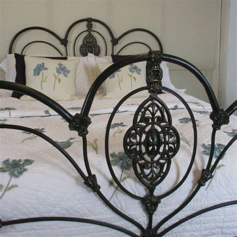 cast iron beds ornate cast iron bed mk55 at 1stdibs