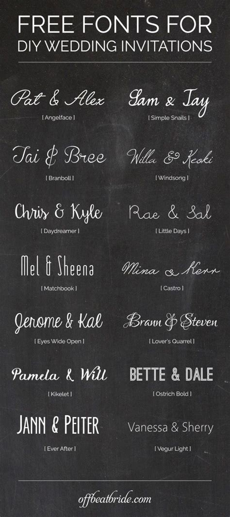 wedding fonts for invitations 1000 ideas about wedding invitation fonts on
