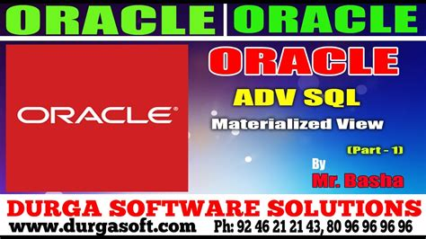 oracle tutorial materialized views oracle tutorial online training adv sql materialized