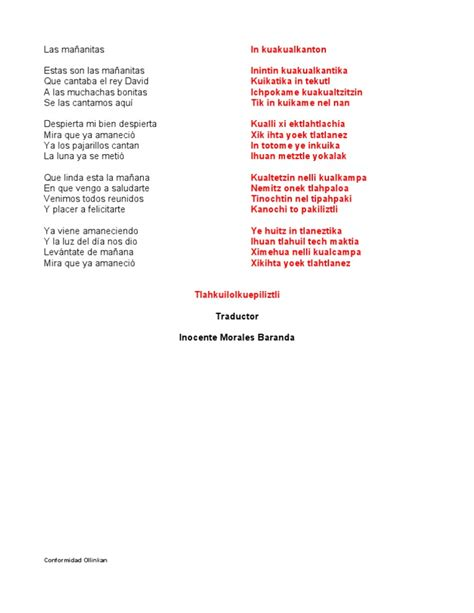 poemas en nahuatl y en espa ol las ma 209 anitas nahuatl