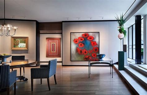 modern apartment art elegant city apartment east 75th street by thad hayes