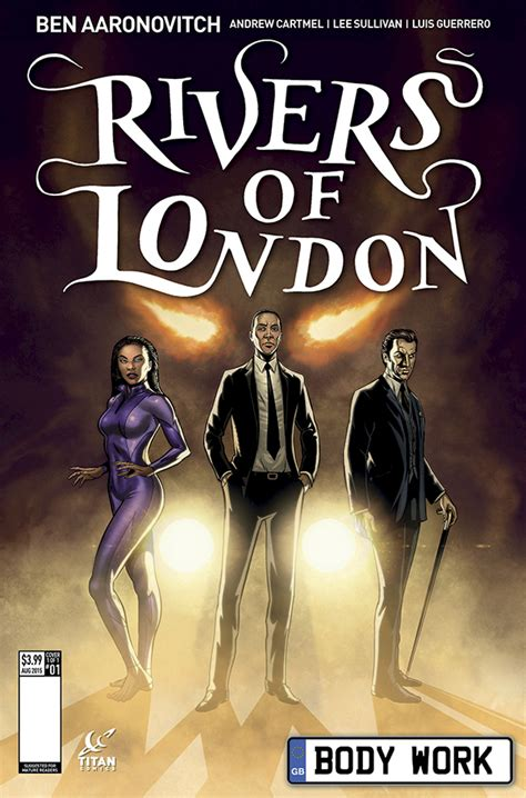 rivers of london the doctor who vets team for 5 issue series rivers of london the beat