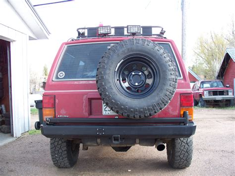 My Swing Out Spare Tire Carrier Jeep Cherokee Forum
