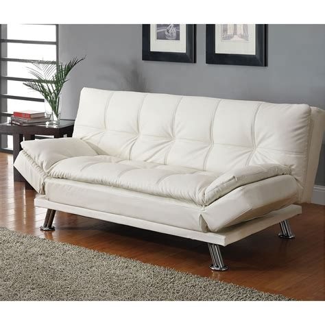 coaster couches coaster furniture 300291 contemporary futon sleeper sofa