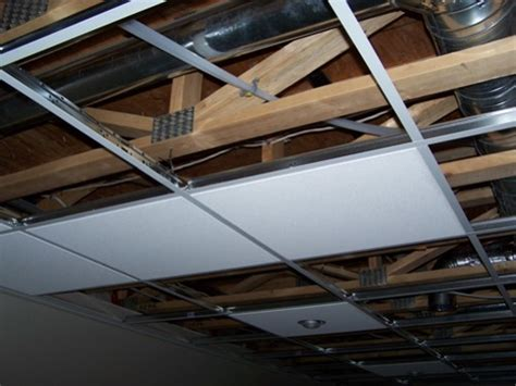 how to replace a ceiling putting in a drop ceiling www energywarden net