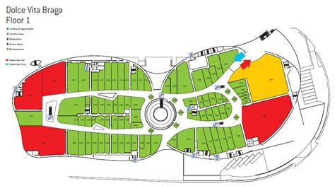 floor plan shopping mall circular shopping mall plan google search mall
