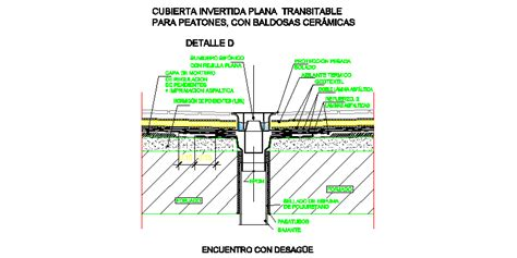 claraboya transitable bloques autocad gratis de detalle de sumidero e
