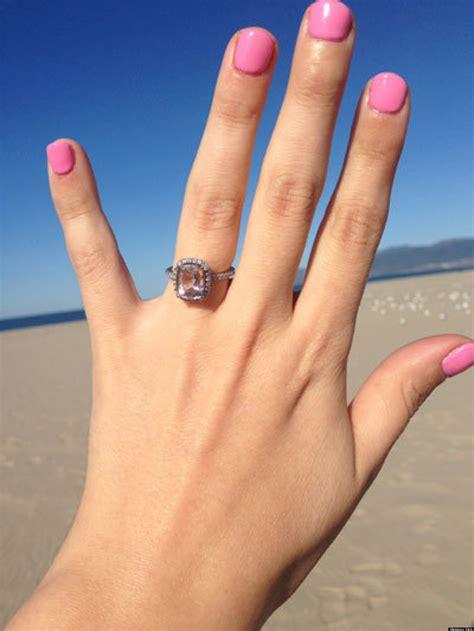 Faboo Engagement Rings by Morganite Engagement Ring Www Pixshark Images