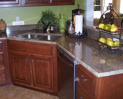 Corner Kitchen Sinks Granite Corner Kitchen Sink Metal Corner Sink In Kitchen
