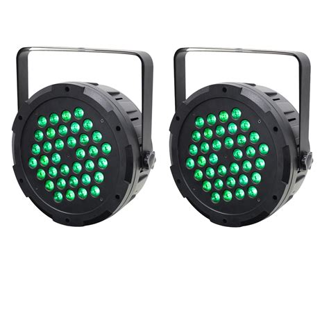 equinox power par 36 high power tri led par can pair