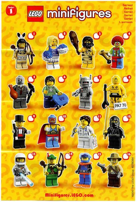 5 Piihan Minifigure Seri 1 lego lego minifigures series 1 8683 mini figures