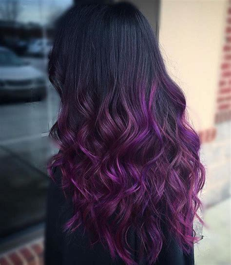 purple hair styles for black hair 50 cool ideas of lavender ombre hair and purple ombre
