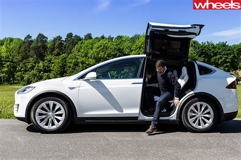 How Do You Open A Tesla Door 2017 Tesla Model X Review Wheels