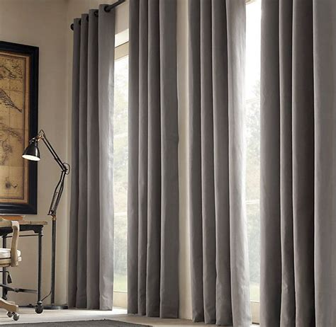 restoration hardware blackout curtains grommet curtains the style but in dark sage green in a