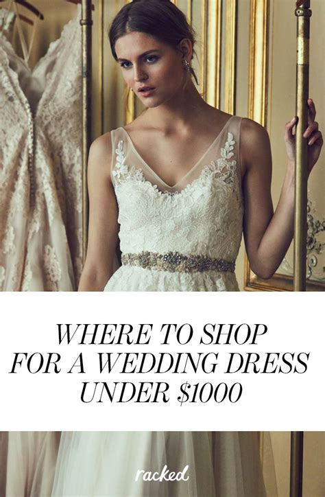 Where to Buy a Wedding Dress for Under $1,000   Breaking