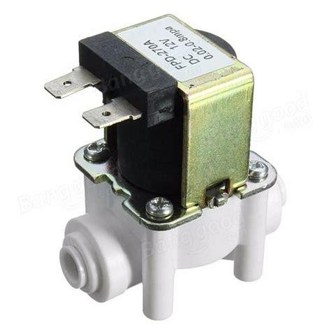 Order Slenoid Dc 12 Vol 1 dc 12v 1 4 inch electric solenoid valve connect water solenoid valve sale banggood