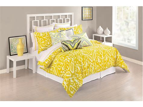 Yellow Bedroom Set by Ikat Comforter Set X Shipped