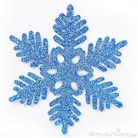 frosted blue snowflake royalty free stock image image