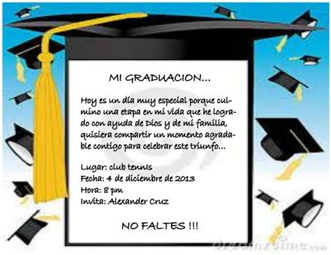 frases de graduacion postales con fotos gratis tarjeta de invitacion