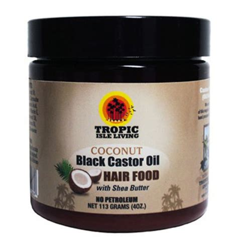 Pomade Cook Grease jamaican black castor coconut hair food pomade