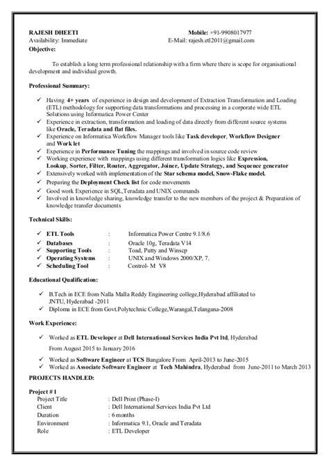 Informatica Resume by Informatica Resume Resume Ideas