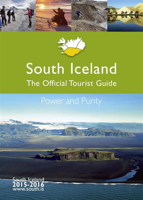iceland the official travel guide books the official tourist guide 2015 2016 visit south iceland