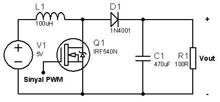 rangkaian converter dc ke dc simetris ic 555 edu tech philosophy konverter dc dc boost dengan ic ne555