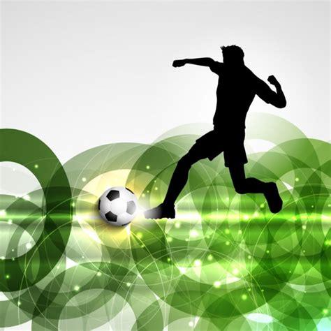 imagenes futbol sin copyright jugador de f 250 tbol en un fondo abstracto descargar