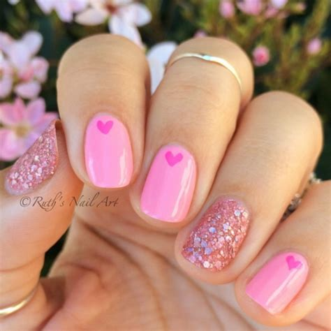 valentines nail 25 s day nail ideas working as a wonderful