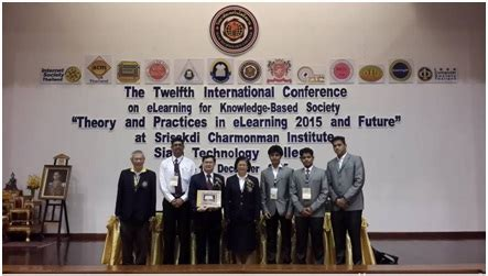 Mba Fees In Bangkok by Students Present Papers In International Conference At