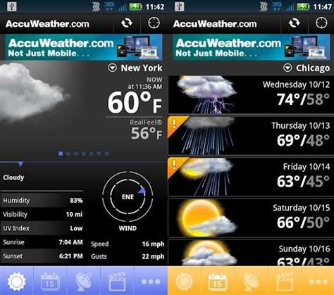 accuweather for android best android apps for the prepared road warrior android authority