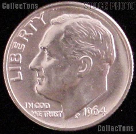 1964 d roosevelt silver dime gem bu brilliant uncirculated 4 49