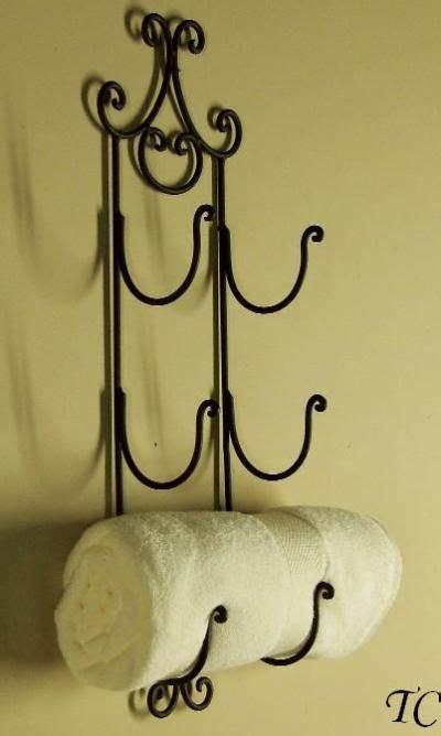 tuscan bath towel rack astrid wrought iron wall wine rack tuscan towel holder