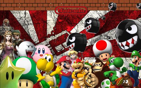 computer themes games nintendo wallpapers wallpaper cave