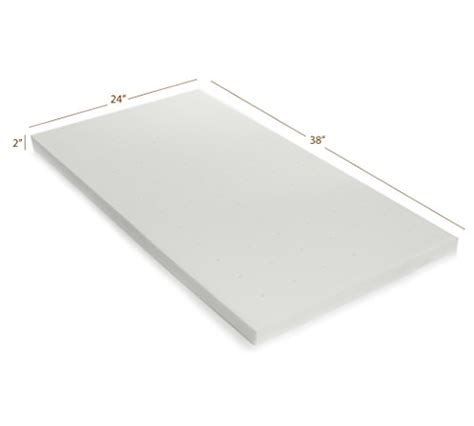 From Usa Milliard Portable Crib Mattress Topper 2in Milliard Crib Mattress Topper