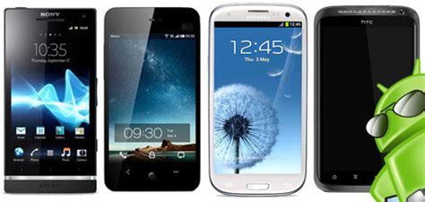 all android phones best android phone of 2012