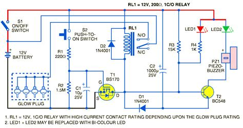 7 3 idi glow circuit diagram 7 free engine image