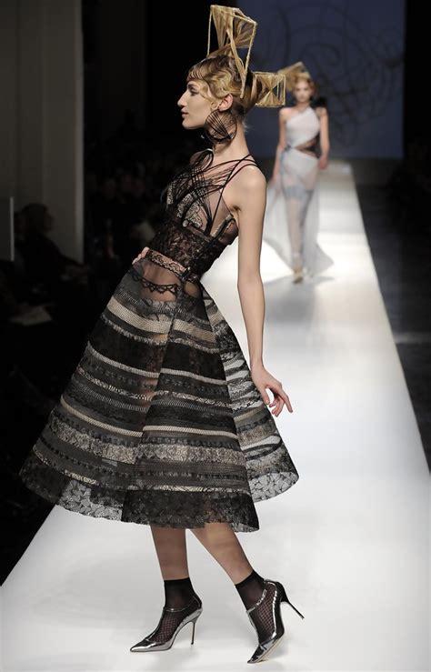 5 At Jean Paul Gaultier Fashion Show by Vojtova Photos Photos 2009 Fashion Week