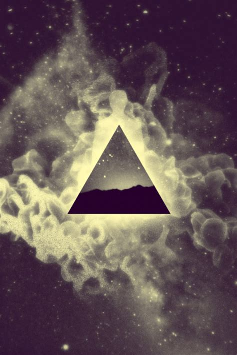 wallpaper tumblr triangle space triangle on tumblr