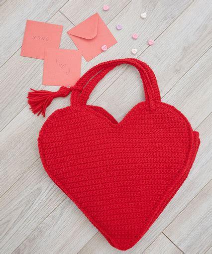 heart tote bag pattern heart tote bag free crochet pattern crochet kingdom