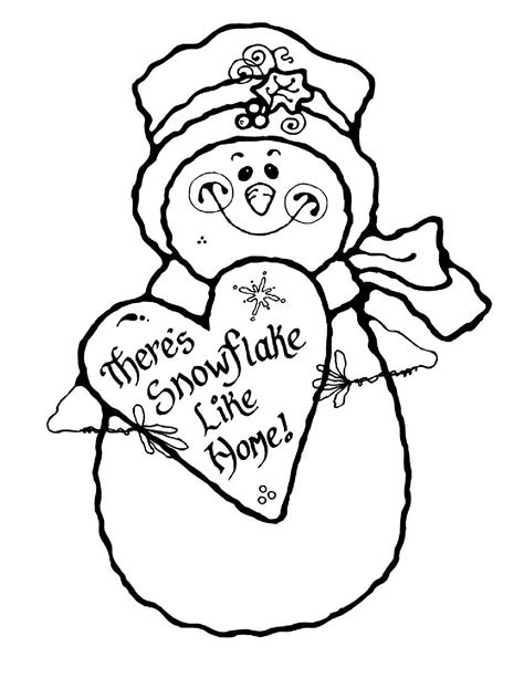 snoopy winter coloring pages