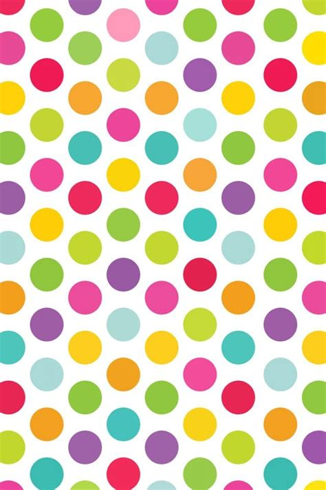 colorful dots wallpaper colorful polka dots wallpapers pinterest
