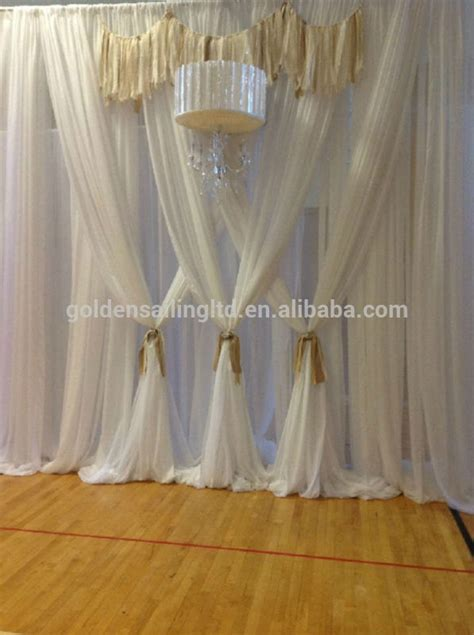 used pipe and drape used wedding backdrop stand pipe and drape system for
