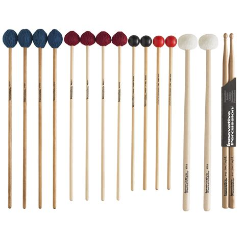 and sticj innovative percussion college primer stick mallet pack