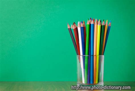colored definition colored pencils photo picture definition at photo