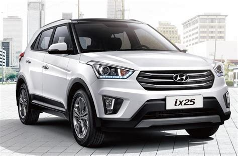 car models names in india hyundai ix25 launch specs mileage and price in india